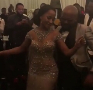 Adesua Etomi Rocks Banky W As They Dance To His Song